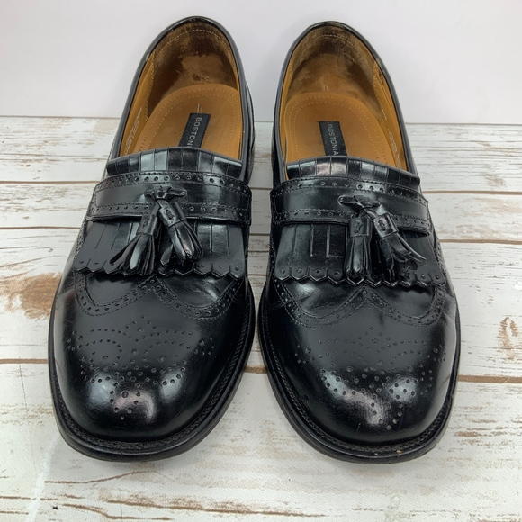 Bostonian Other - Bostonian Luxe Men's Black Leather Loafers 10.5 M